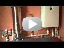 Работа пеллетного котла ACV Compact 20